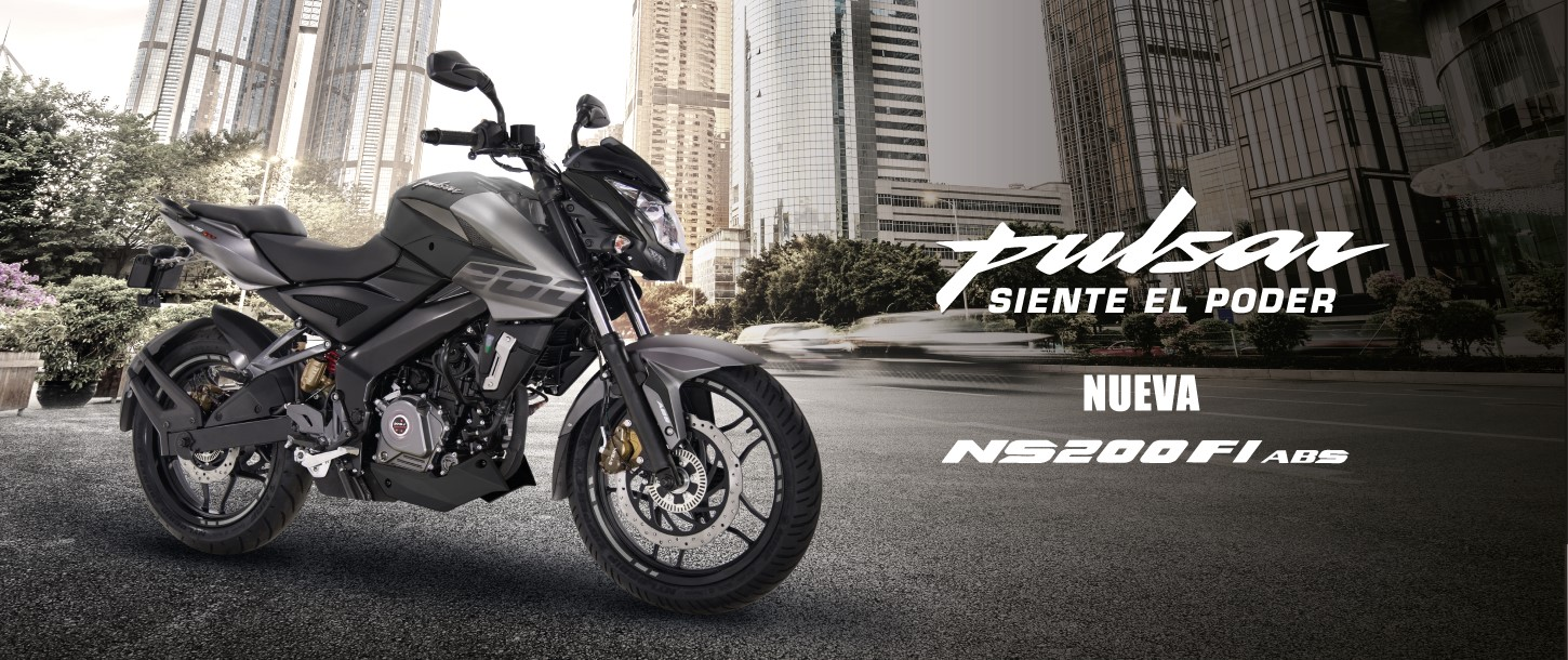 Motos Pulsar NS200 FI con ABS